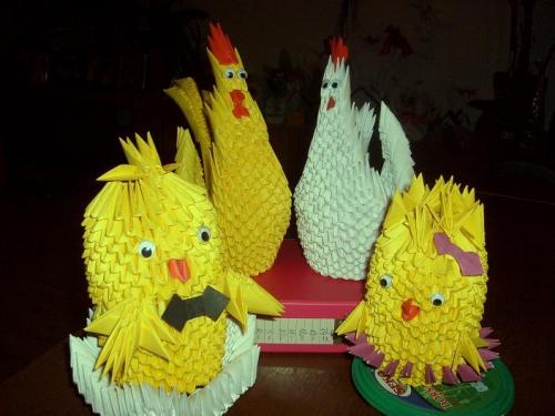 Wielkanocne Ozdoby Origami Centrumrekodzielapl
